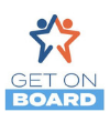 Iowa Association of School Boards' Get On Board Logo