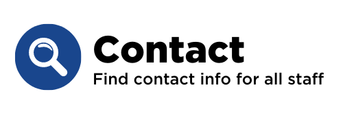Find contact info for all staff